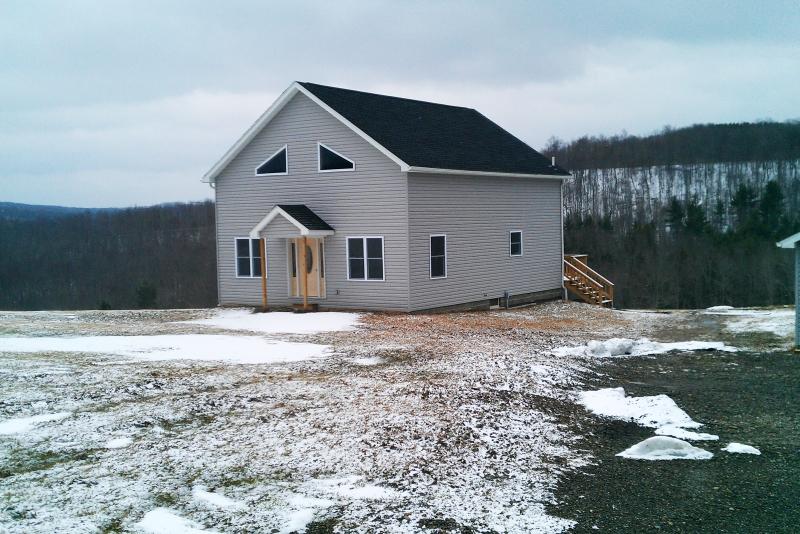 Pole barn-style house